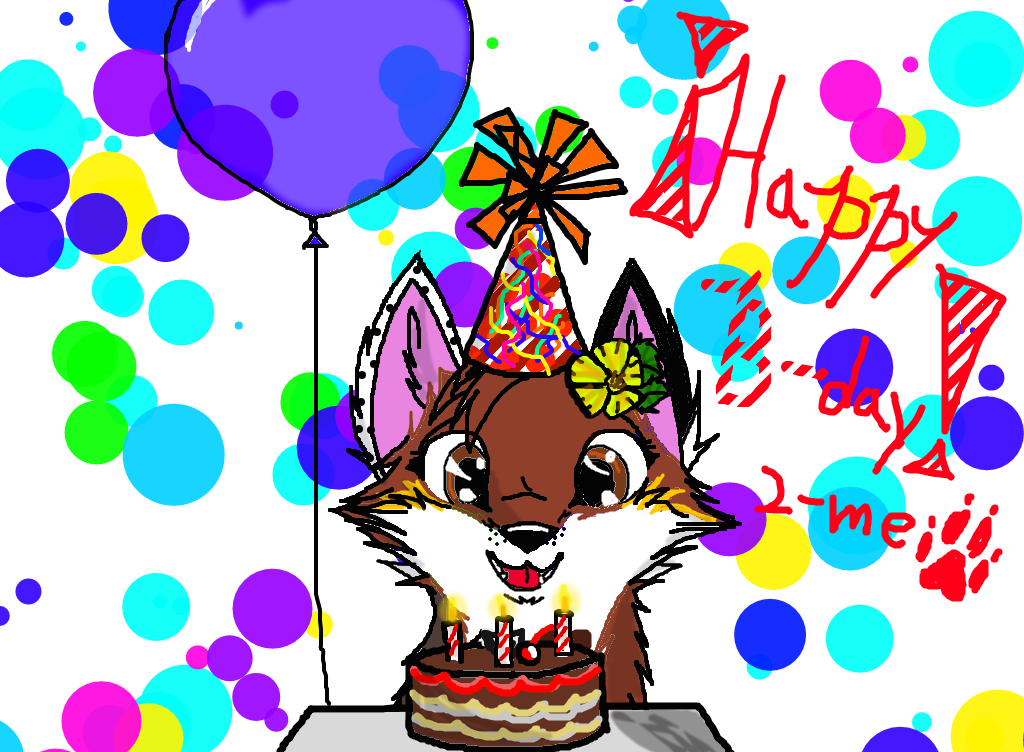 Most recent image: My B-day