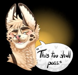 Eric - This Too shall pass (Art by Burgundy)