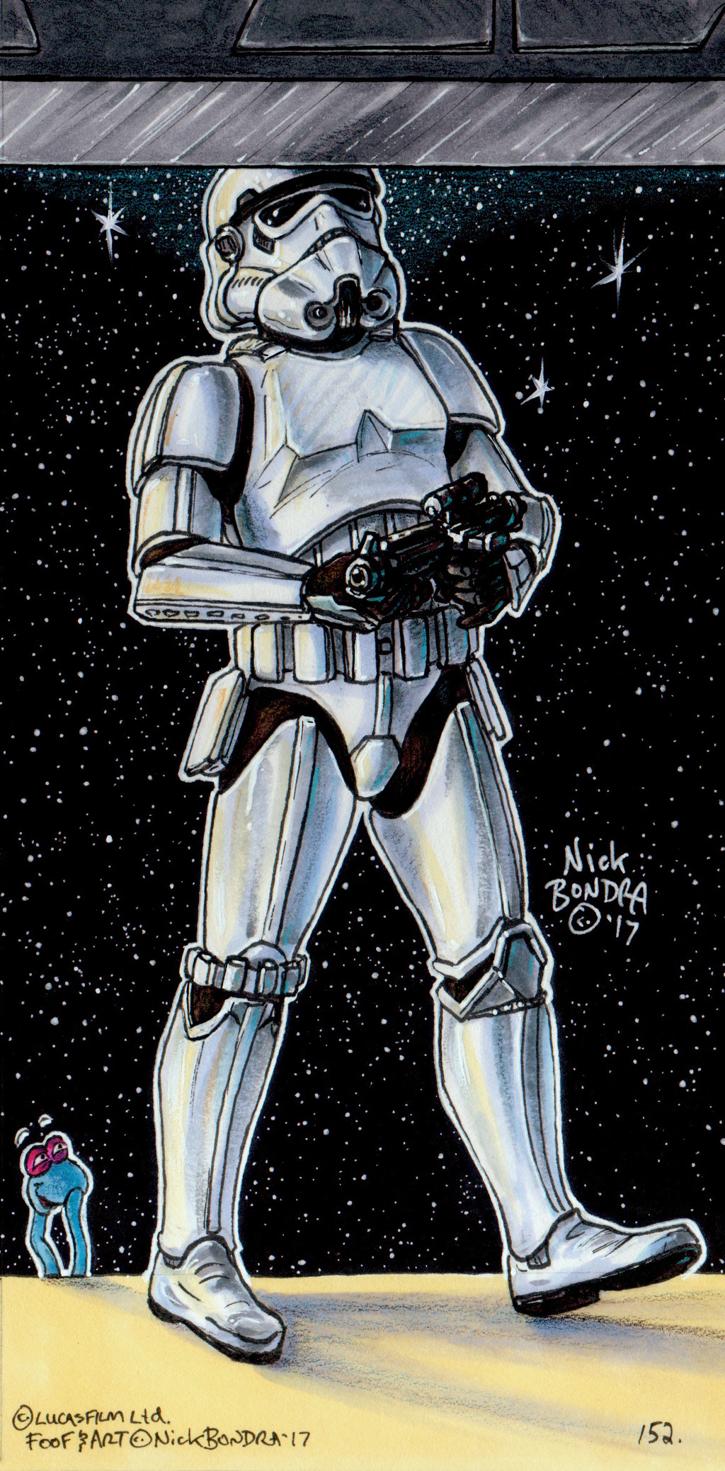 The Stormtrooper That Banged His Head On The Door