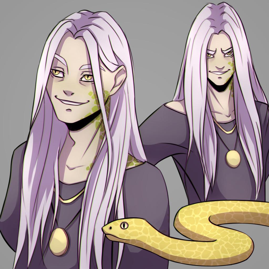 Character Doodles - Saladar
