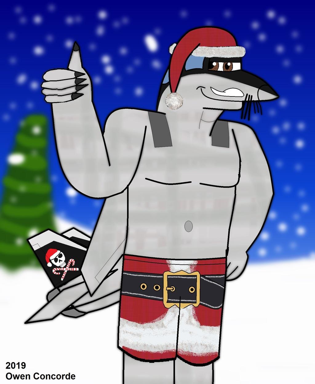 Max's Santa Shorts
