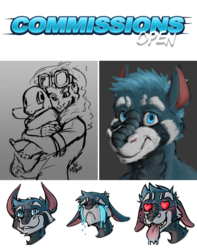 Stream Commissions Open & LIVE