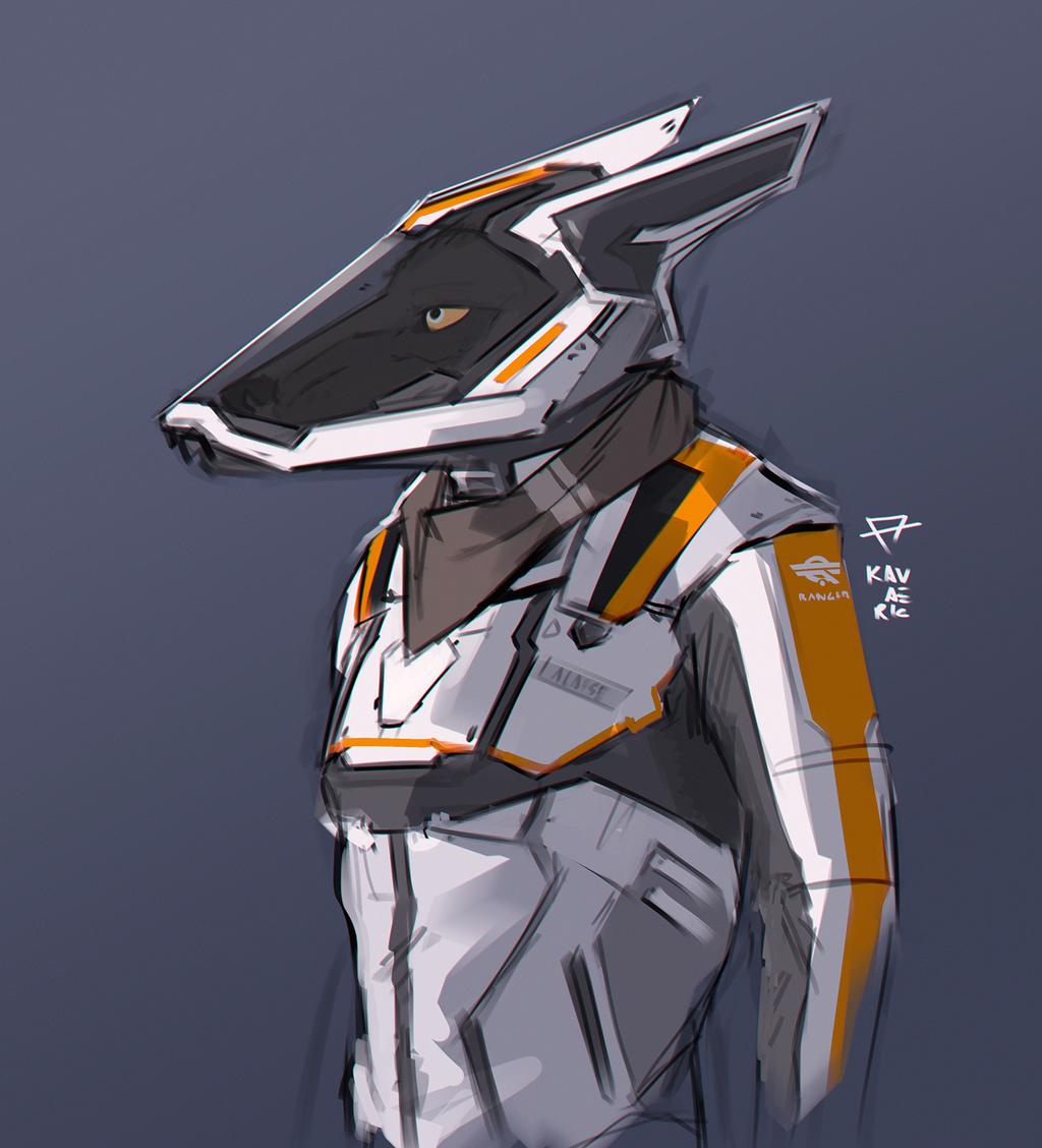 Ranger frontier suit