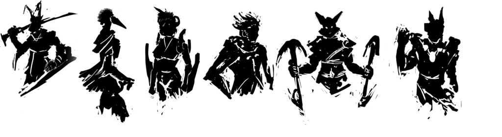 Most recent image: Silhouette Sketches - Character Concepts