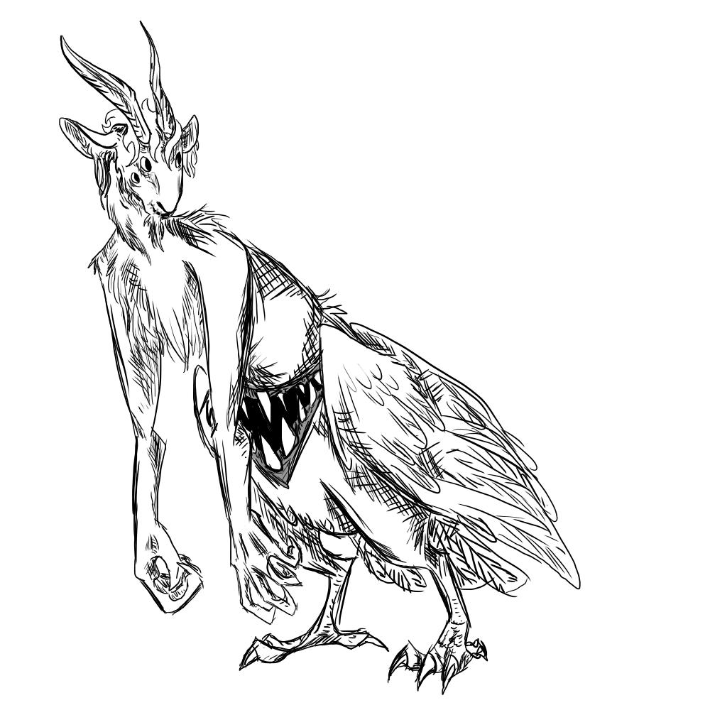 useless goatbird