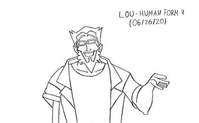 Lou - Human Form 4