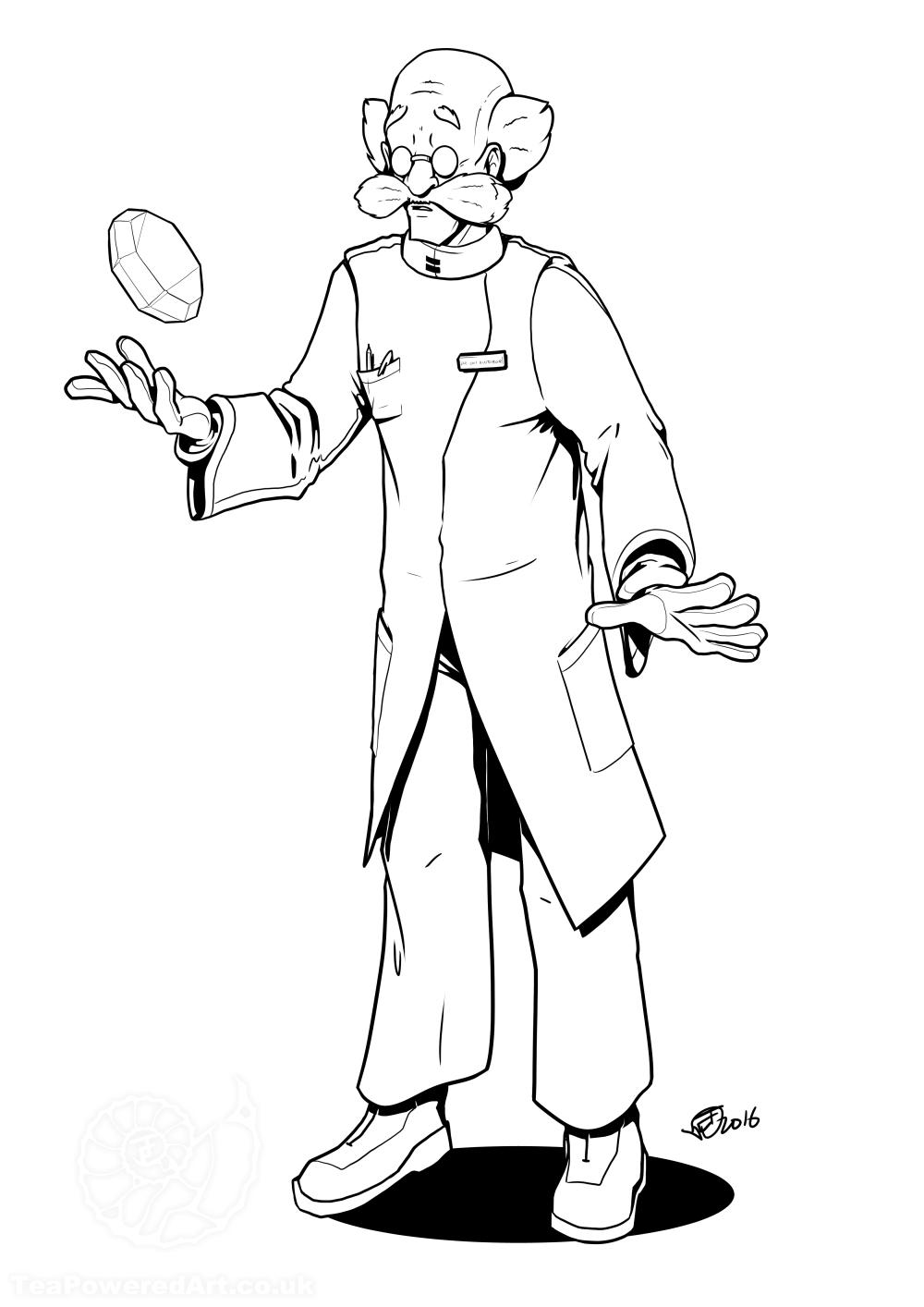 Dr. Kintobor got a Chaos Emerald