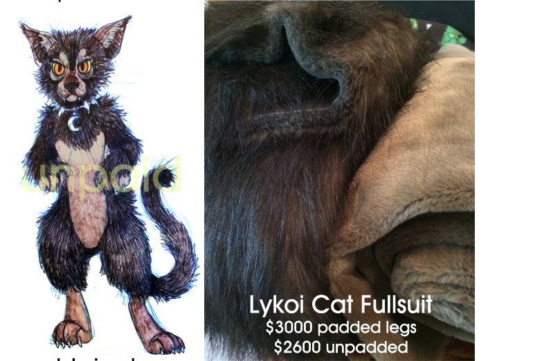 Lykoi Fursuit FOR ADOPTION