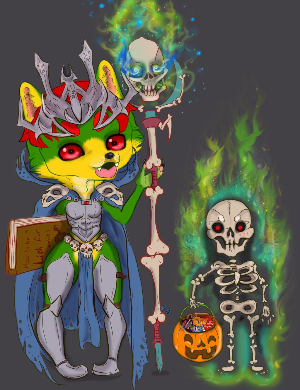 Lich Halloween Chibi