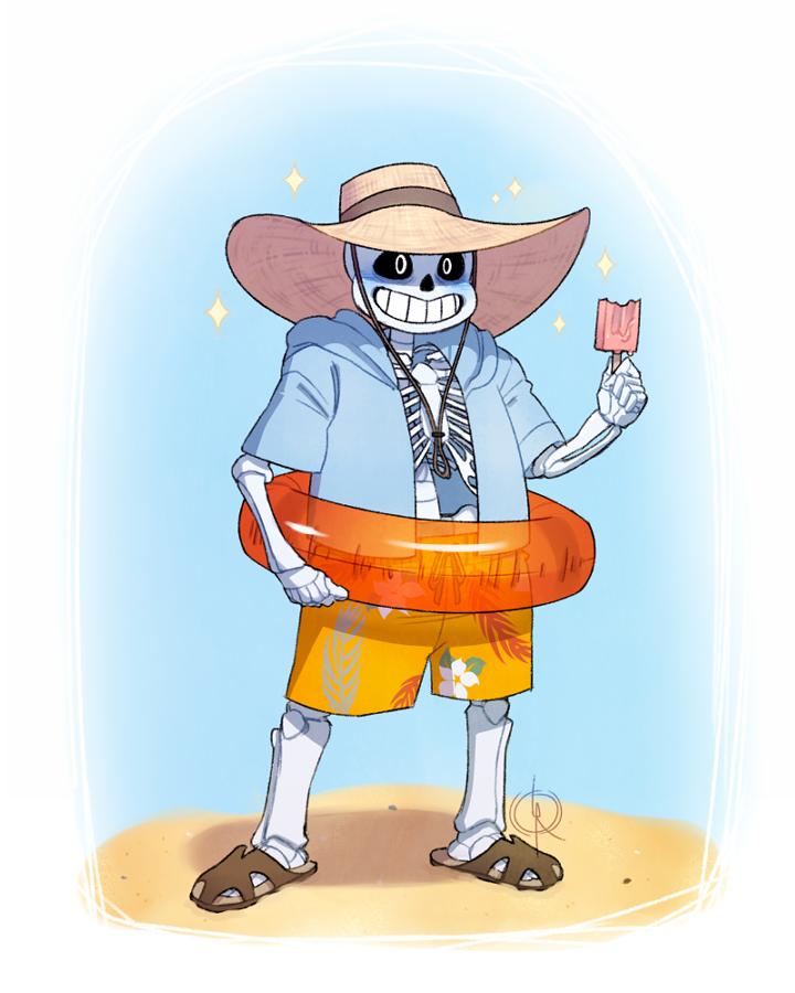 Undertale: Beach Bum