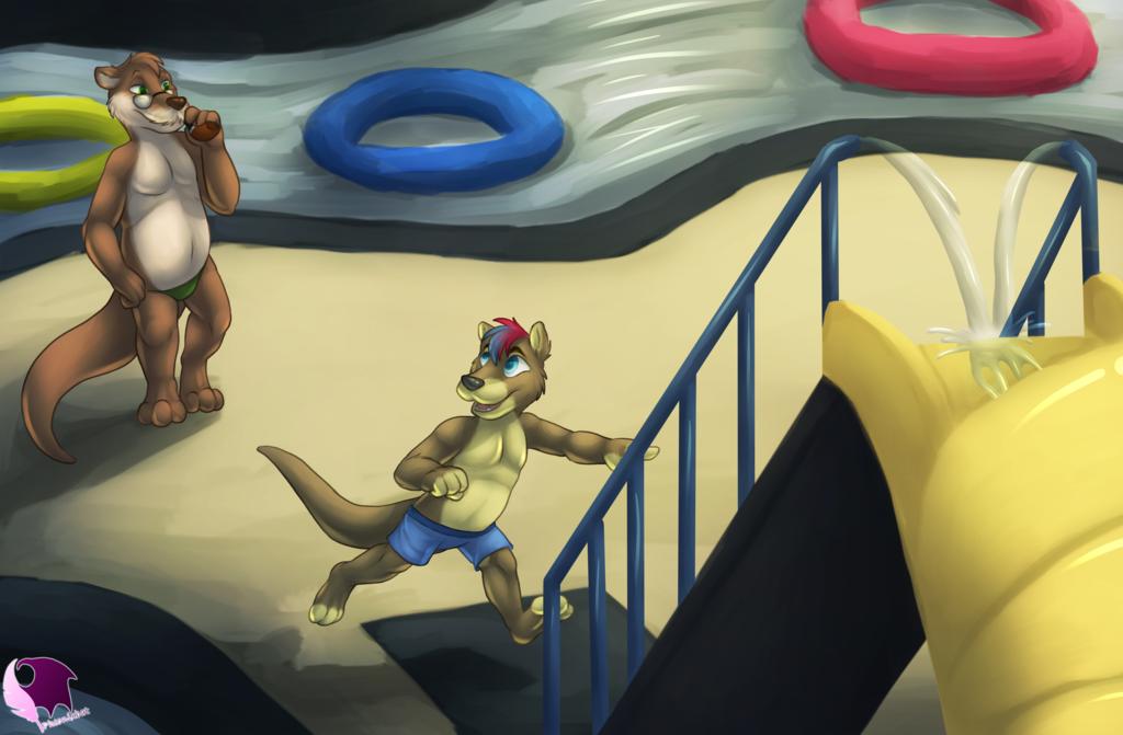 Water Park Playtime by Pheonixbat