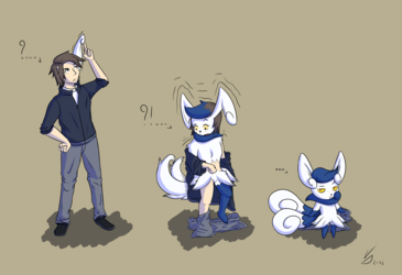[Meowstic TFTG] Scratching an ear