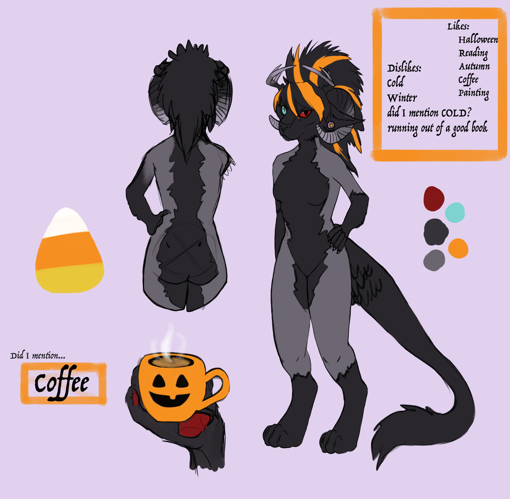 Most recent image: Super lazy luci ref sheet