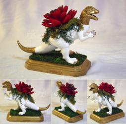 Dilophosaur Planter Centerpiece 2