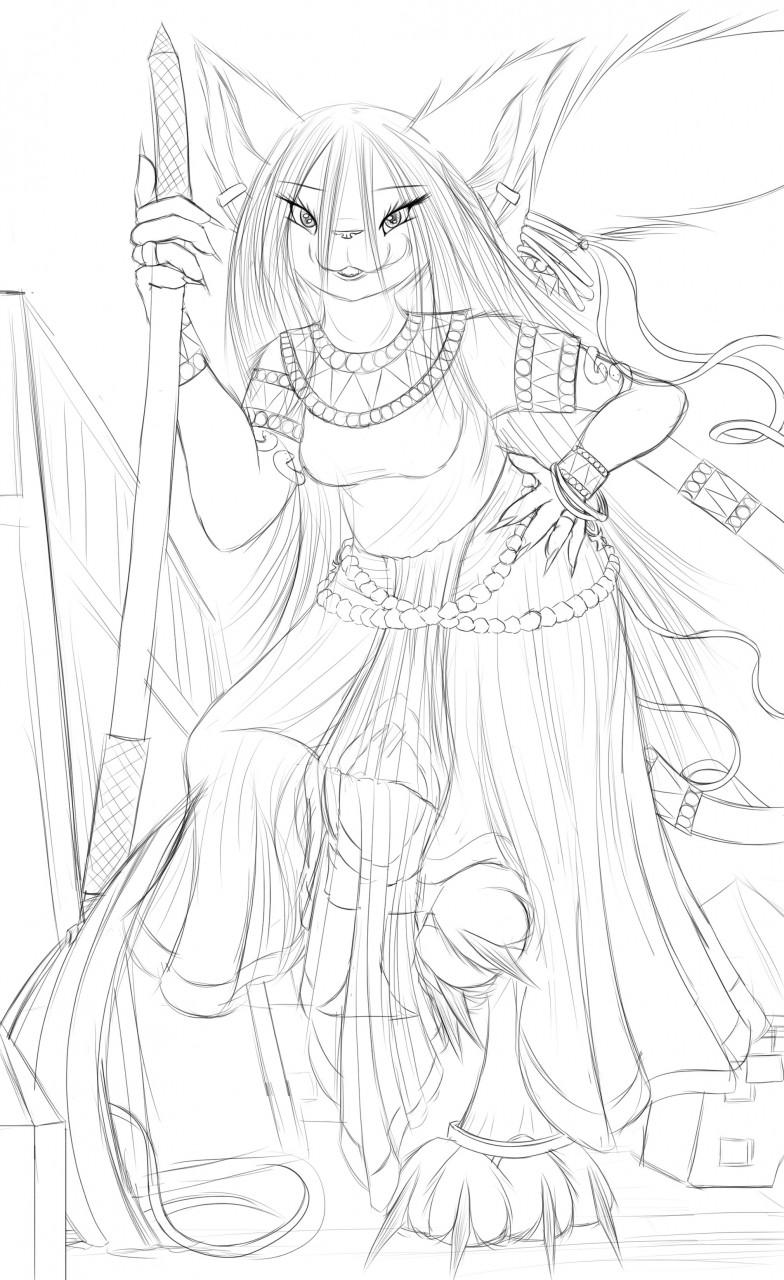 A Sphinx And Her Scythe