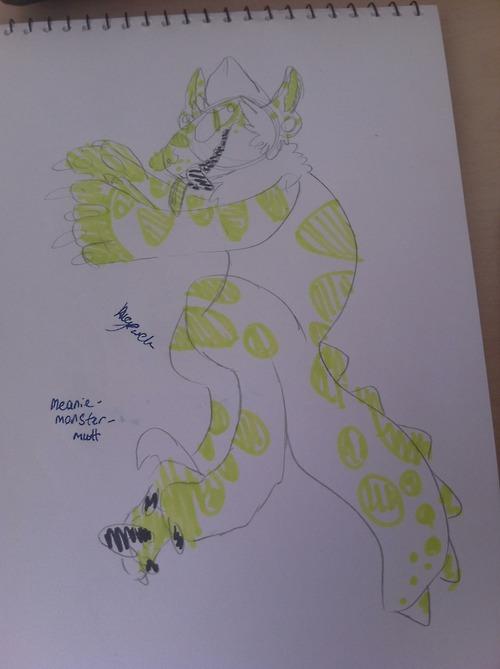 randa doodle by bugfuck