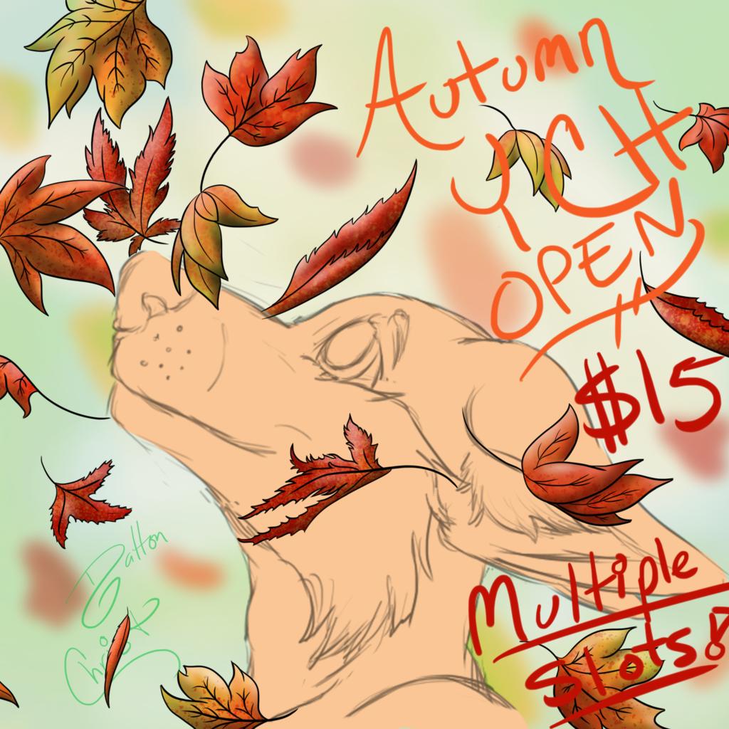 Autumn Breeze YCH OPEN!