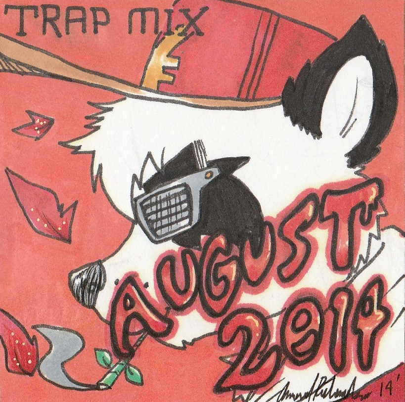 August 2K14 Trap mix album art