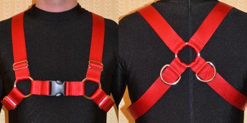 Nylon Bulldog Chest Harness