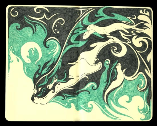 Featured image: Tri-Fold Dreams: Otter