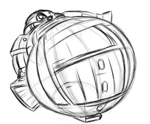 R2D2 Blow Up