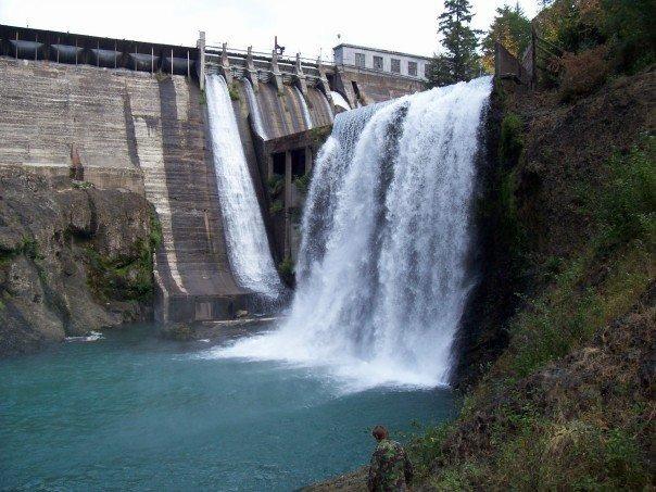 Condit Dam