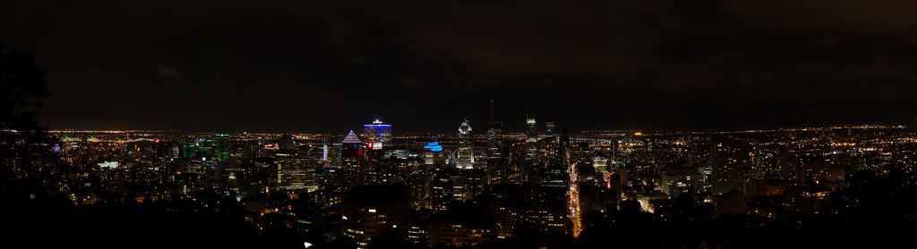 Most recent image: Montréal from Mont Royal