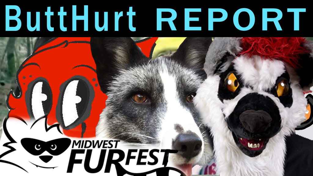 Video Midwest Furfest BUTTHURT Report Fox Guy n DUMB Furries