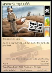 Tails and Tactics: Exclusive Sponsor's Card: Sponsor's Pogo Stick