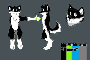 Comm - Mr.McMurfin refsheet