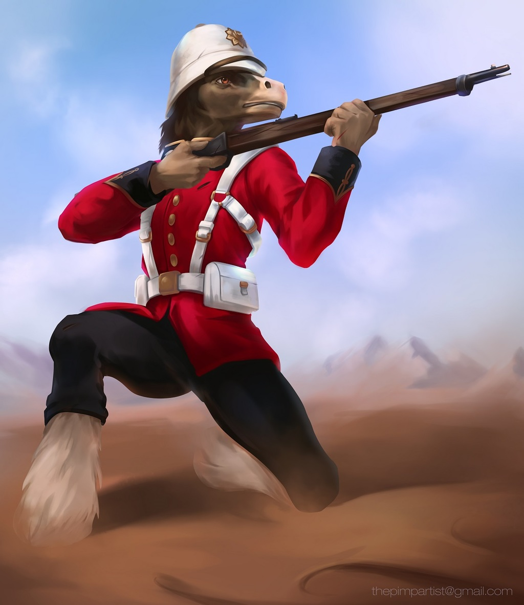 Zulu War Richard [C]
