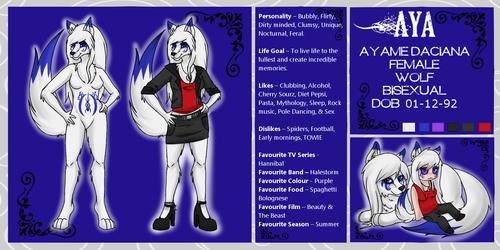 Ayame Reference Sheet