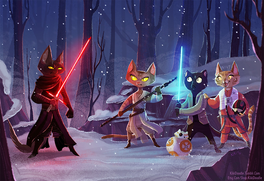 Paw Wars: The Furce Awakens