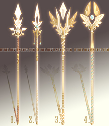 Auction : Weapon Adopt Set 23 [CLOSED]