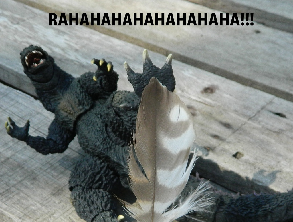 Godzillas only weakness!