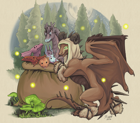 Merry, Dragon-y Krampus