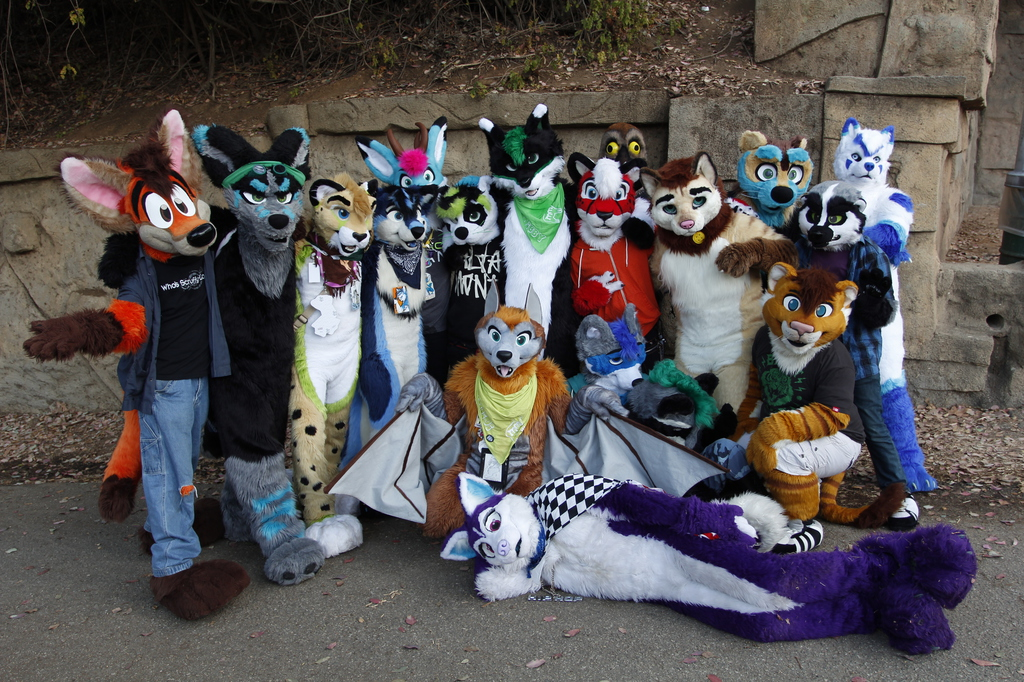 LA Furmeet Group Photo