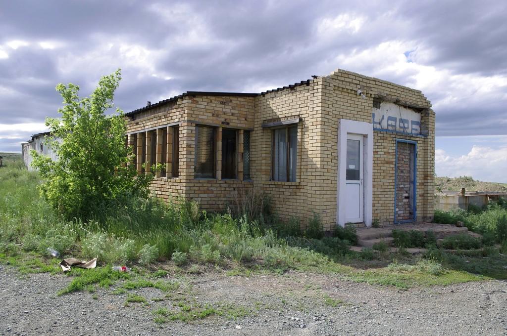A lost roadhouse near Karaganda 1