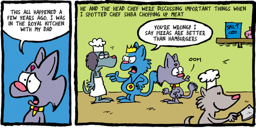 THE FUZZY PRINCESS (4-19)