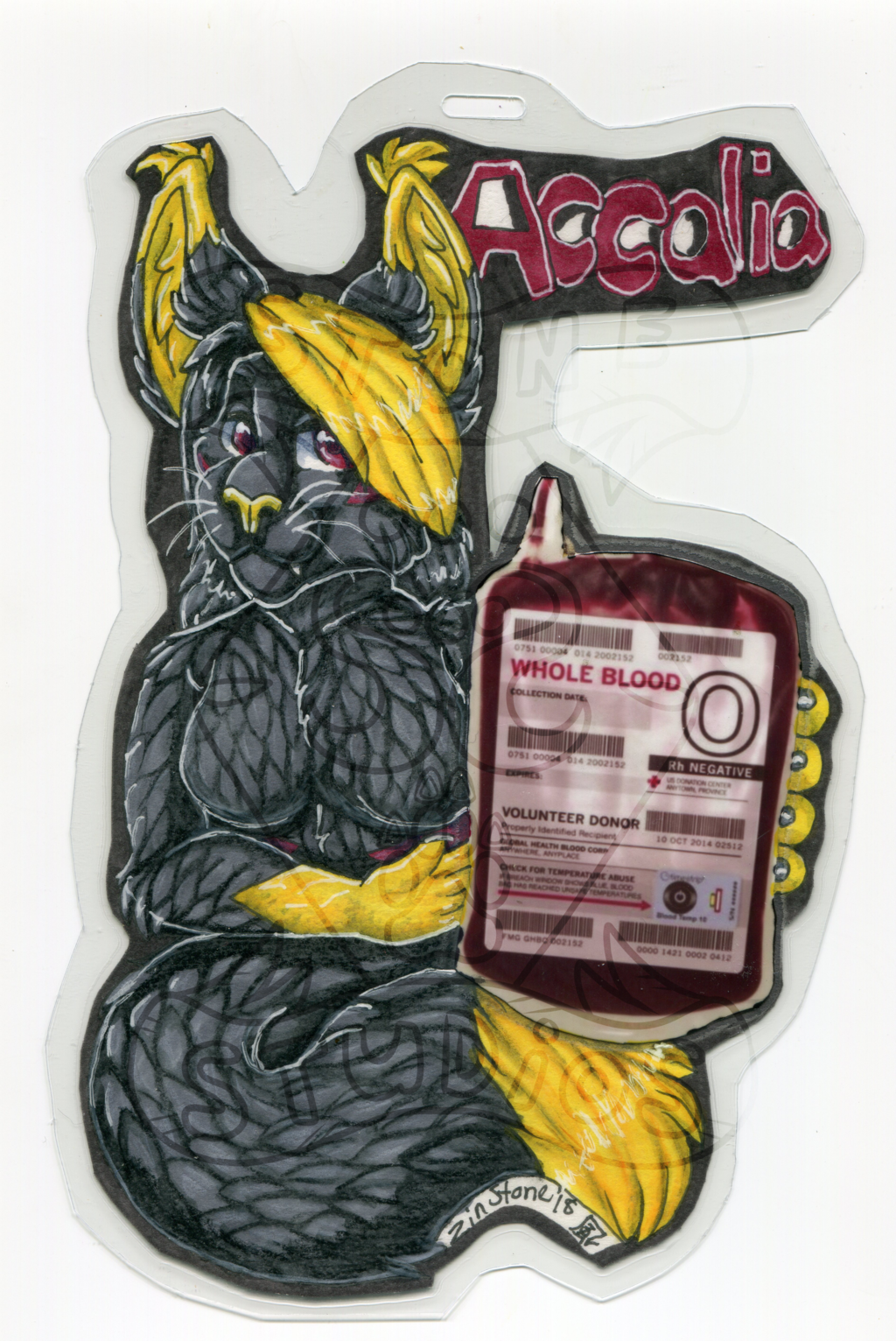 Accalia Drink Badge - AC2018