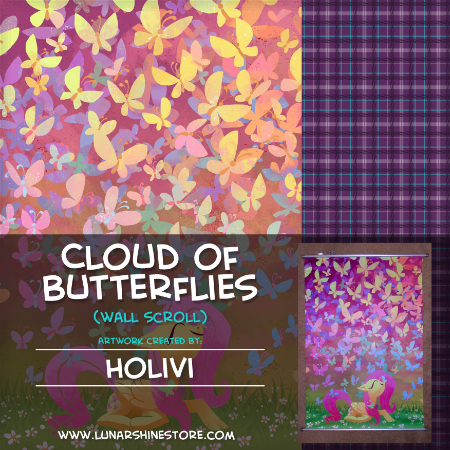 Cloud of Butterflies by Holivi