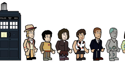 The 5th doctor and his Friends