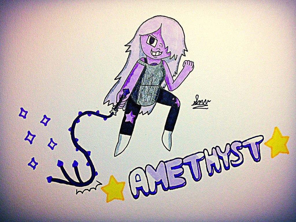 Most recent image: Amethyst