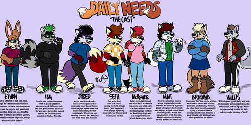 Daily Needs: Meet the Cast!