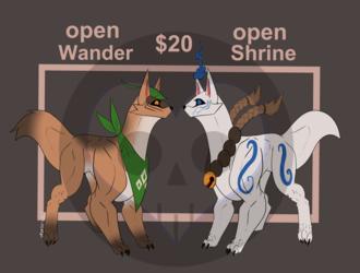 Adoptable: Kitsune (open)