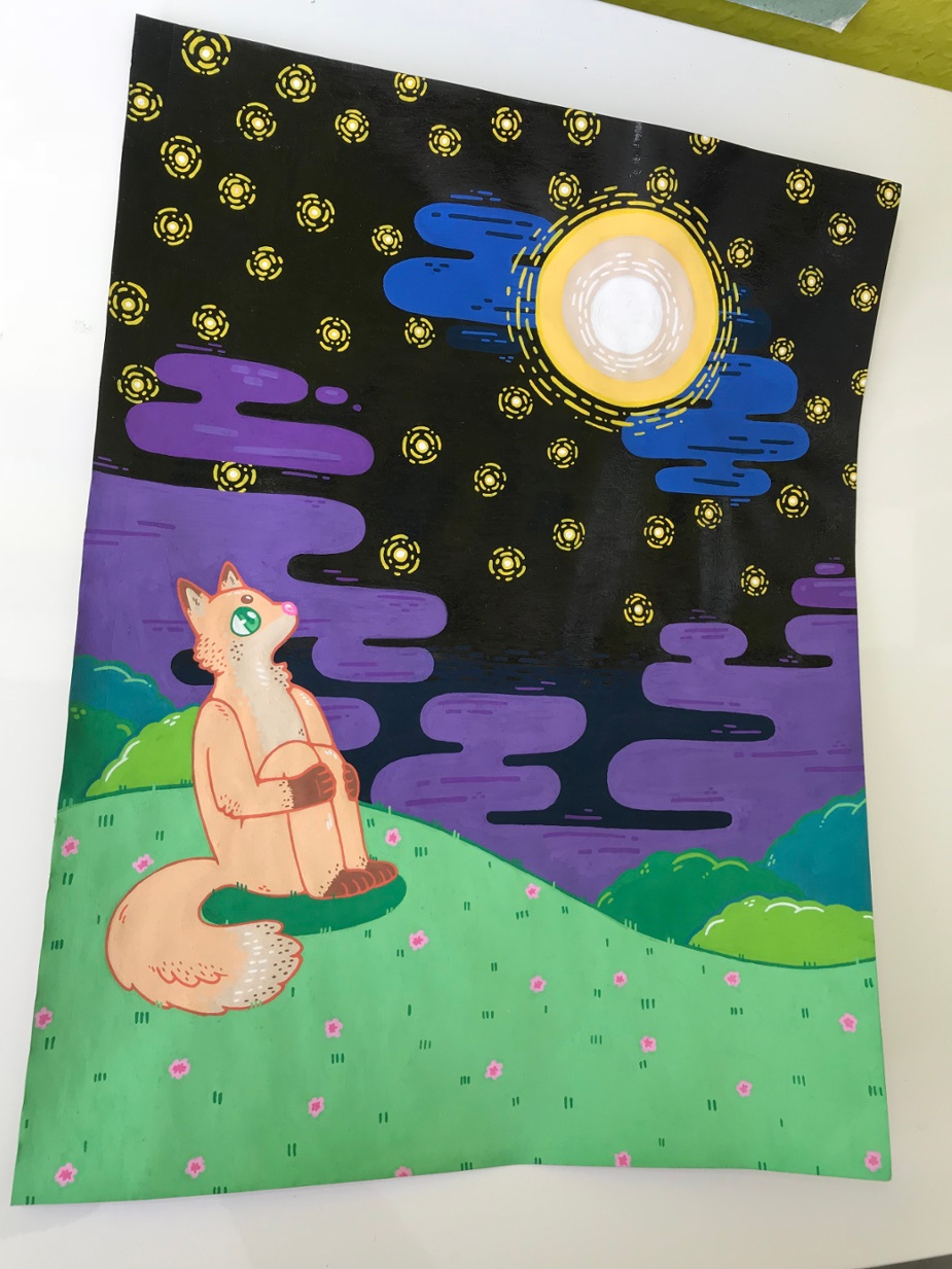 Sketchbook Stuff - Stargazing