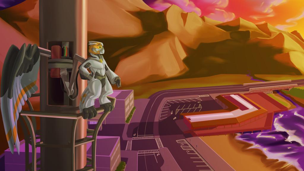 Commission - ZebraCode - OwlScape