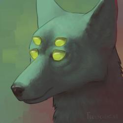 Four Eyed Canine