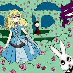 Alice in the Queen's Garden