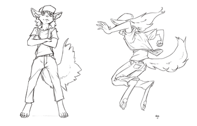 Ron Falco sketch commission